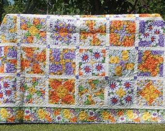 Summer Flower Kaleidoscope