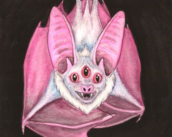 Tri-eyed Batty