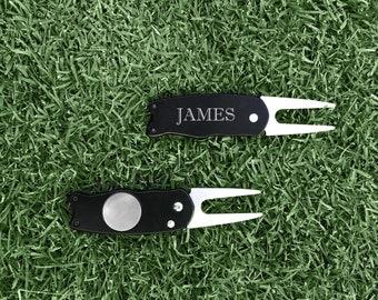 Custom Engraved Divot Tool