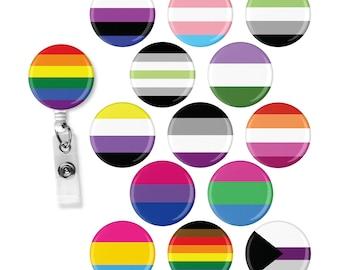 LGBT+ Pride Badge Reel