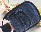 Australia potholders/ Oven Mitts / Australian Made Oven/ Gloves from Second Hand Jeans / Recycled Denim / Personalised