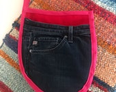 Potholders/ Oven Mitts / Made in Australia / Gloves from Second Hand Jeans / Recycled Denim / Personalised/ Customised/ Eco friendly