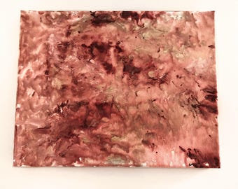 Rose Swirl Abstract Painting
