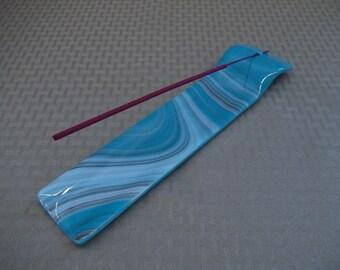 Fused Glass Incense Burner