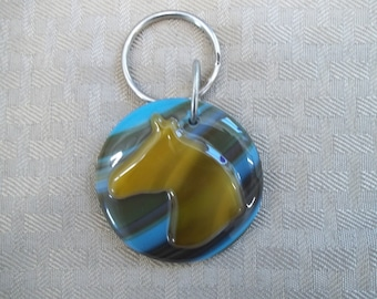 Southwest Horse Key Chain