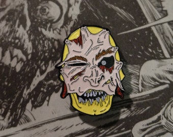 Horror Enamel Pin Badge - I Love Your Face