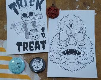 Trick or Treat Halloween Grab Bag