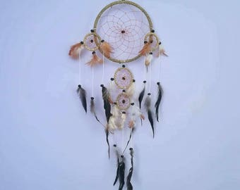 Dream Catcher,Boho Style, Boho Decor, Home Decor, Hippie Chic, Trip, Feather Decor, Handmade Dream Catcher, Handmade Decor, Hippie Style