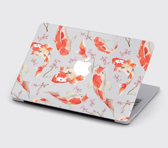 Personalized Floral Monogram Hard Plastic Cover Case For Apple Macbook Air Pro 11 12 13 15 2016 2017 2018 Inch Retina Touch Bar