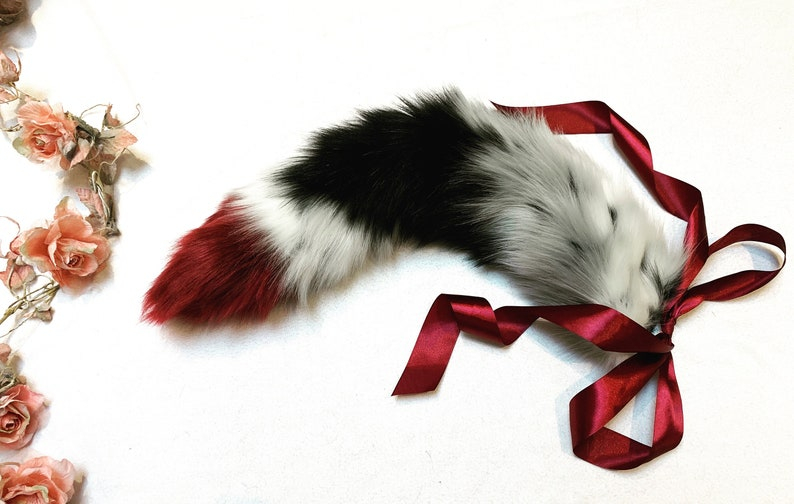 Kitten Set Ears and Tail BDSM Petplay