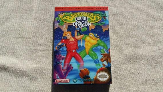 NES Battletoads Double Dragon remplacement boîte universelle du jeu vidéo étui de haute qualité