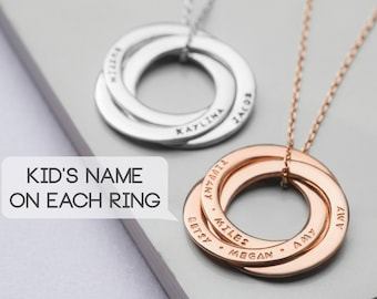 404de1cdb Personalized Mom Necklace - Necklace For Mom With Kids Names - Children's  Name Necklace - Jewelry For Mom - Mother's Day Gift - Grandma Gift