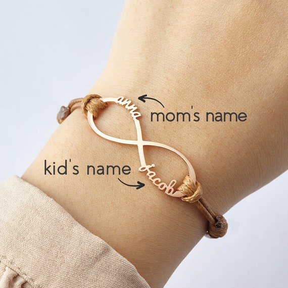 Mom Jewelry Mom Christmas Gift Mothers Bracelet Infinity