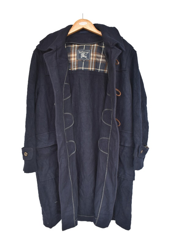 Vintage Burberry's Long coat/ trench coat large