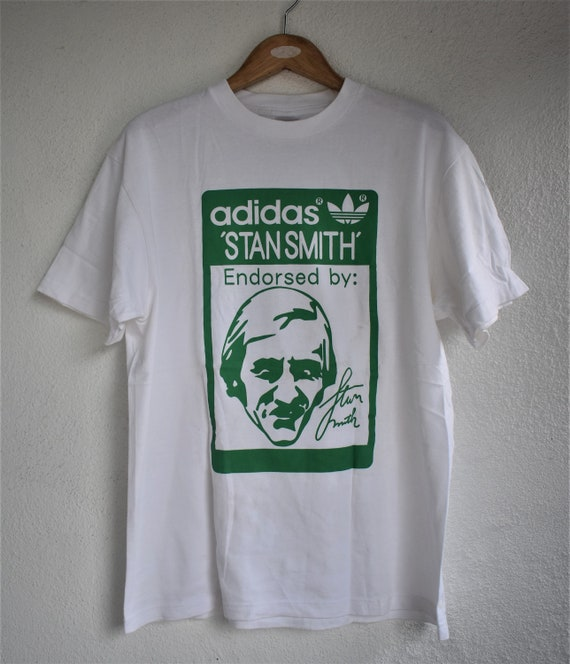 Vintage Adidas Stan Smith Signature T-shirt