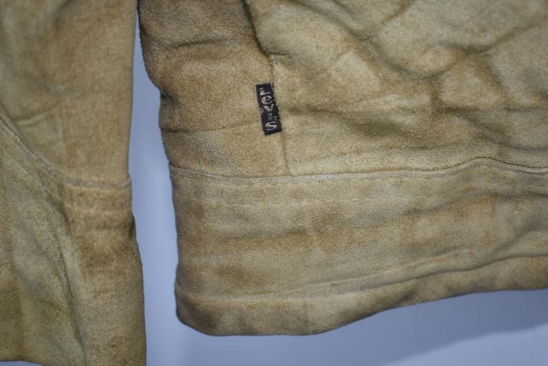 Vintage Levi/'s Suede Sherpa Trucker Jacket