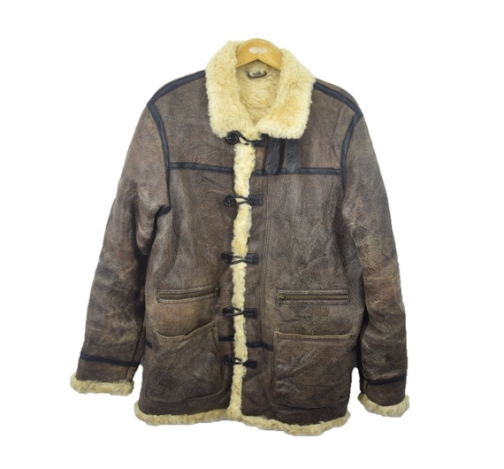 B3 Army Sheepskin Shearling Jacket