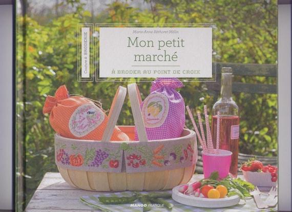 Ähnliche Artikel wie Mein kleiner Markt, Kreuzstich-Marie-Anne ...