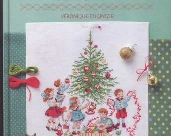 Book the magic of Christmas cross-stitch Véronique Enginger