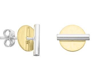 FUSION variable stud earrings - variabilní náušnice