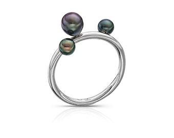 3PEARL ring - prsten s perlami
