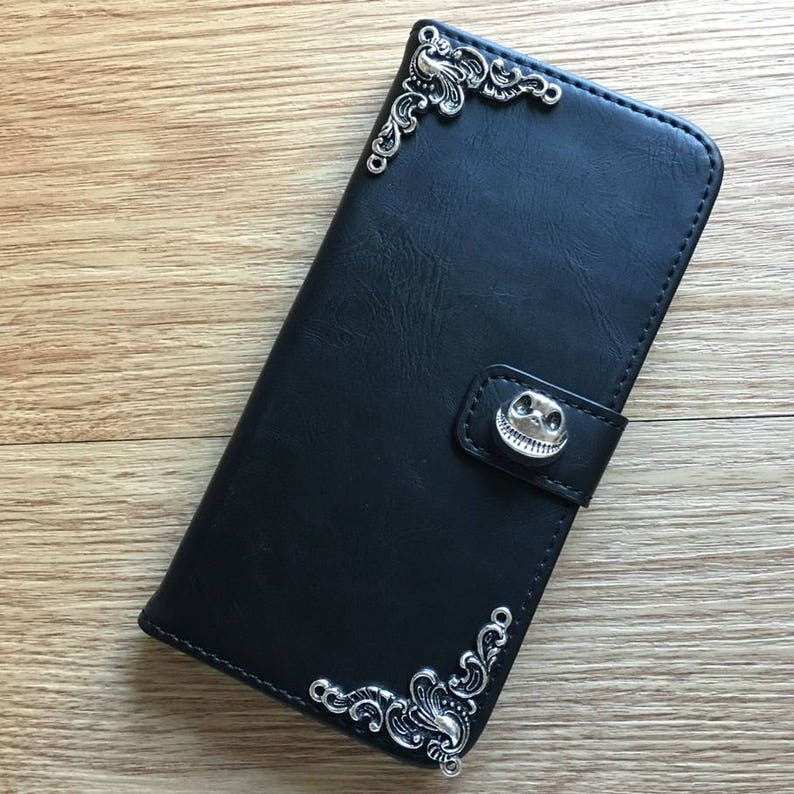 the best attitude 48a8b 2bcd8 Nightmare Before Christmas Jack Skellington Wallet Leather Flip Case Cover  For Apple iPhone 6S 6 Plus 6S Plus 7 7 Plus 8 8 Plus X XR XS Max