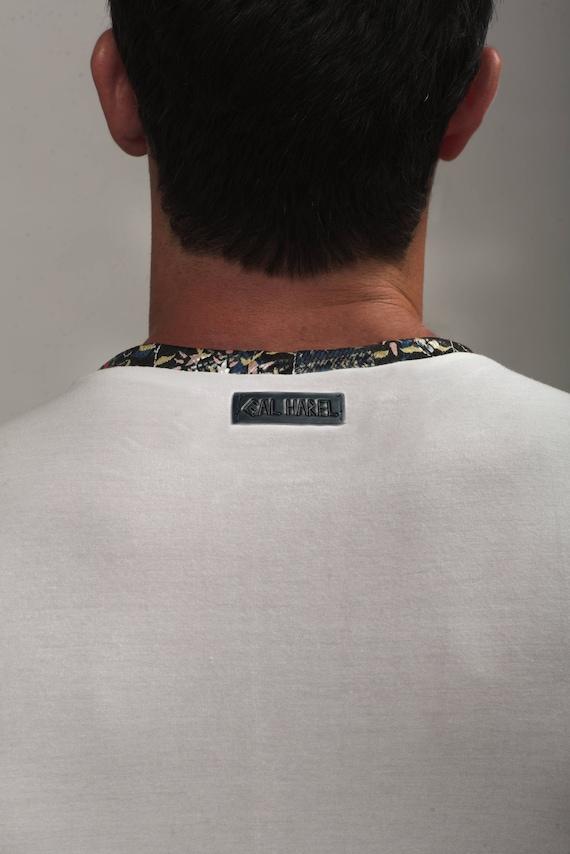 printed Evening Mens wear shirt Tank Mens top clothing Unique Design fashion Mens tank Handmade Man's shirt shirt Mans Top clothing dqgawWxZT