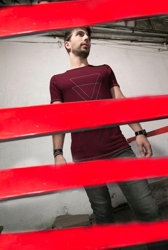 tshirt clothing Red men clothing t Mens shirt Everyday Design creative Shirt men T shirt shirt Unique Handmade men shirt Mens fashion F0xwRqd
