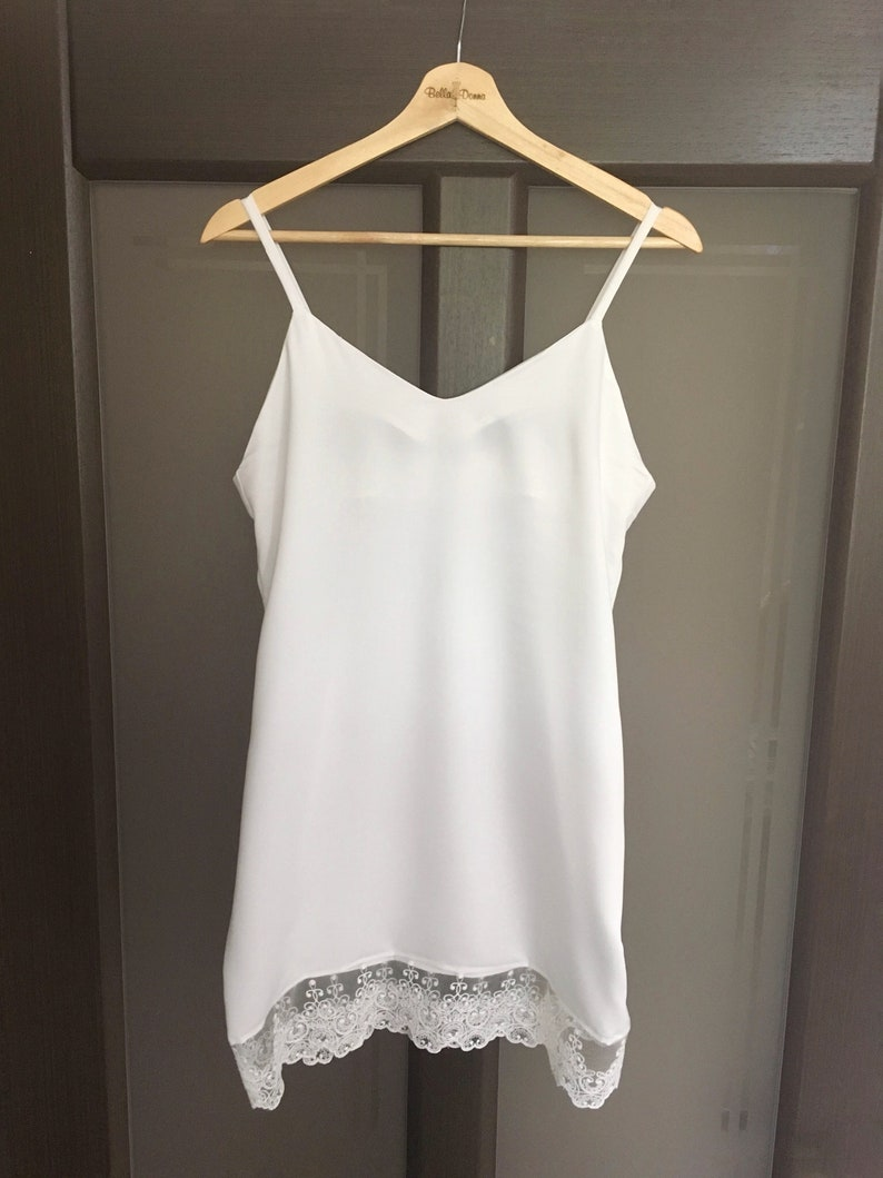 ivory nightdress wedding nightgown, sleepwear bridal lingerie honeymoon night dress Nightgown with lace bridal nightgown