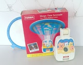 RARE 1995 Playskool Vintage - Sleepy Time Serenade - Musical Box - Light Show 3-in-1 Baby Bedtime Centre - Boxed 100 Complete
