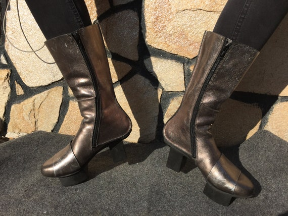 Trippen Boots Geisha Silver EU 36