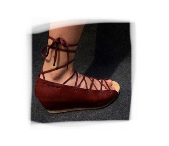 Weird Trippen Wooden Sandals EU 39