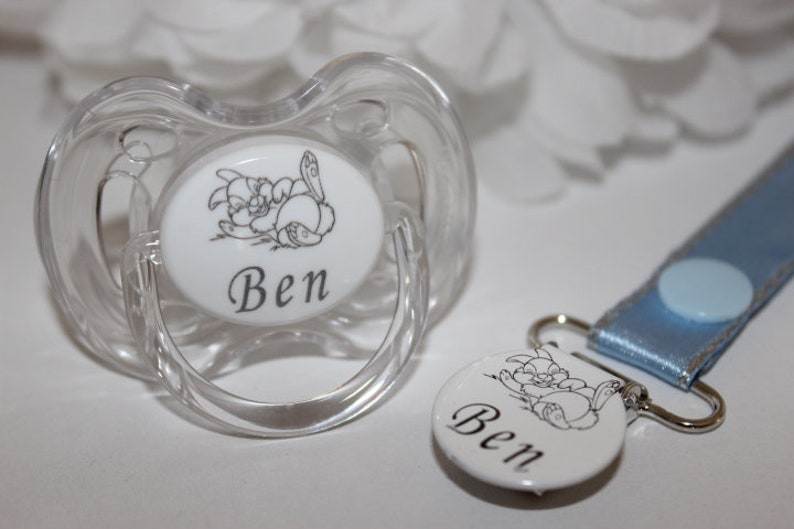 PERSONALISED DUMMY 0-6 MONTHS CHERRY TEAT *CAN BE STERILISED*LASER ENGRAVED*