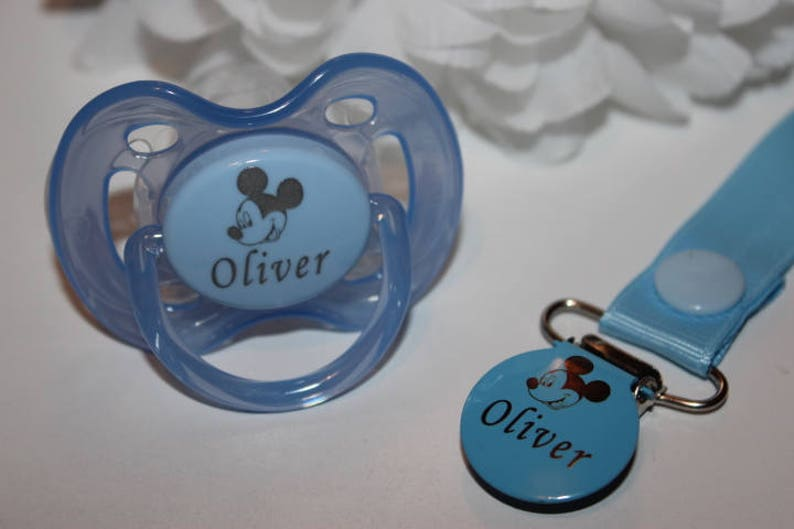 DUMMY, PACIFIER DUMMY PERSONALISED 2 PACK **CAN BE STERILISED** SOOTHER
