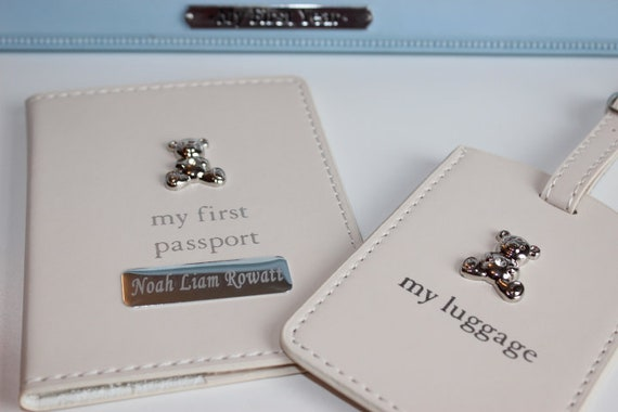 Holiday Gift Guide Baby's First Passport Cover