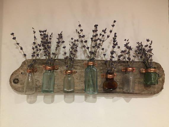 Driftwood Antique Bottle Vases Etsy
