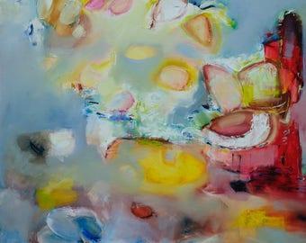 Abstract Oil Painting, Contemporary Oil Painting, Large Oil Painting, Contemporary art, Modern Art, modern Ukrainian art