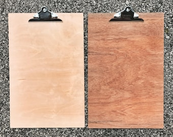 12x18 Wood Clipboard