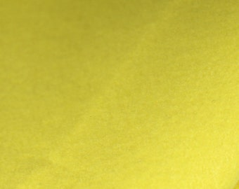 Bamboo and Rayon Eco Felt - Lemon