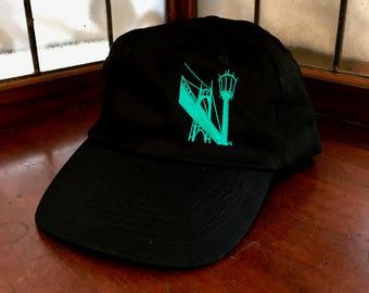 St Johns Bridge Cap, hat, baseball hat, baseball cap,