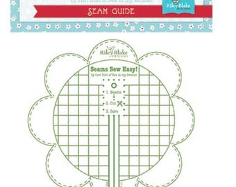 Seams Sew Easy- Lori Holt Bee in My Bonnet-Seam Guide Green