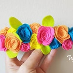 Carnival Flower Crown for Fiesta Party Birthday