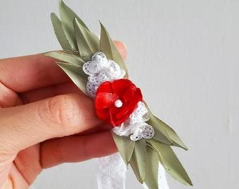 Greenery Leaf /baby's breath headband inspired by Christmas/Holiday season