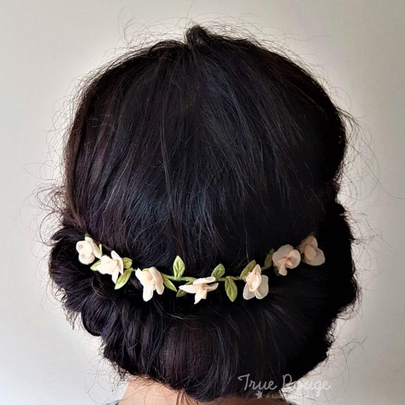 Greenery Flower Hair Vine image 0