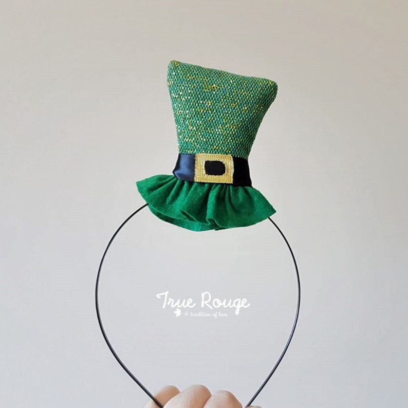 St. Patrick's Day Hat Headband image 0