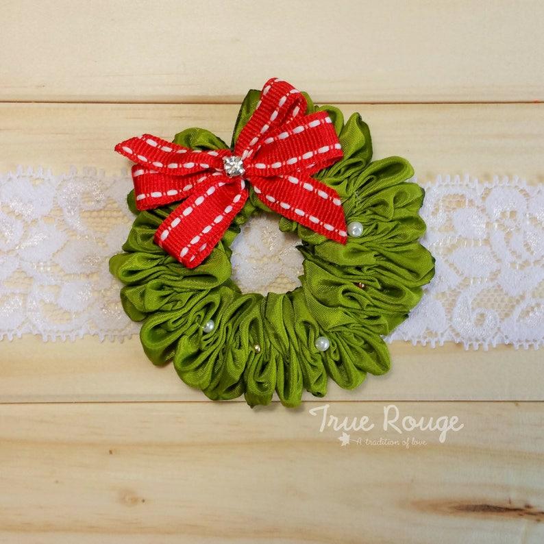 Wreath Headband for Baby girls image 0