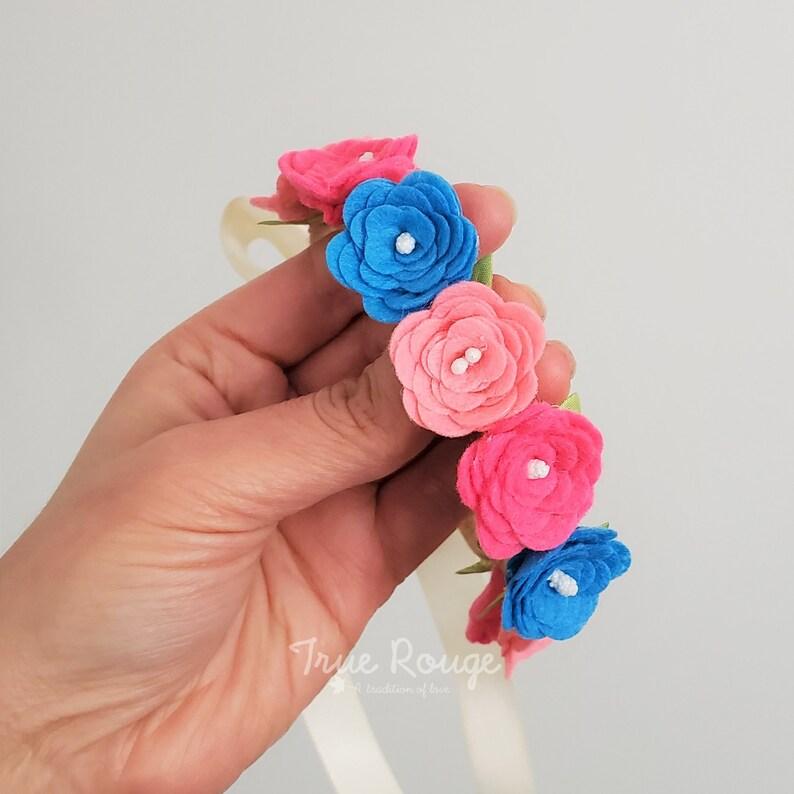 Petit Fiesta Baby Flower Crown image 0