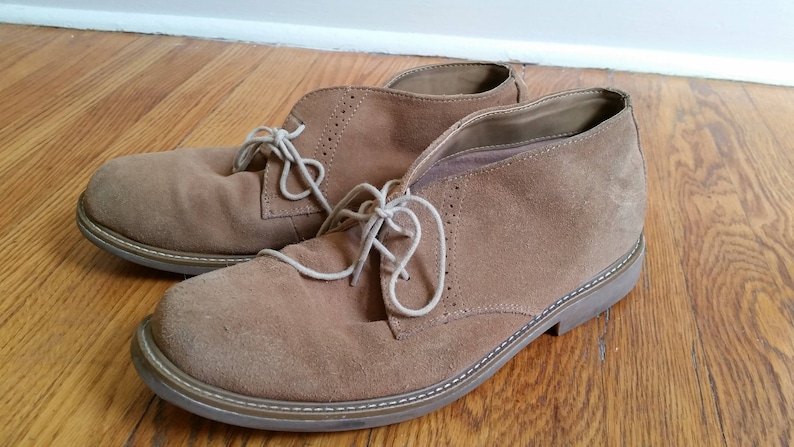 05714f8926ad Desert boots chukka boots tan vintage BASS leather boots ankle