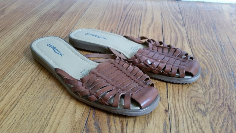 01f8826d778c Huaraches woven leather flats vintage huarache sandals slip