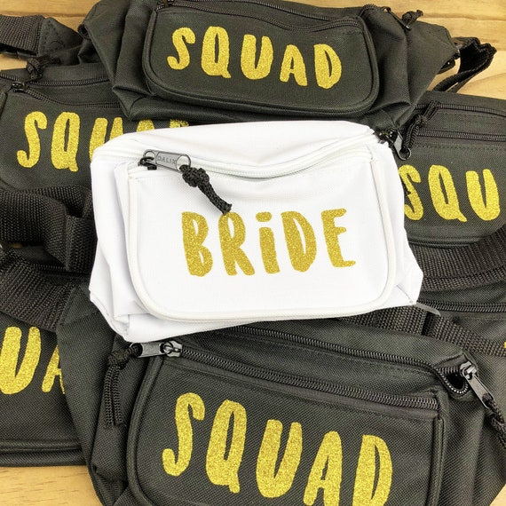Hen Do Party Bum Bags Team Bride To Be Tribe Squad Crew Bridesmaid Fanny Pack